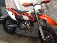 2014 KTM 300 with light and adobo metro
