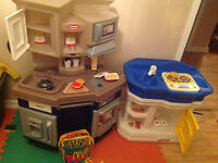 Little tikes kitchen and pantry
