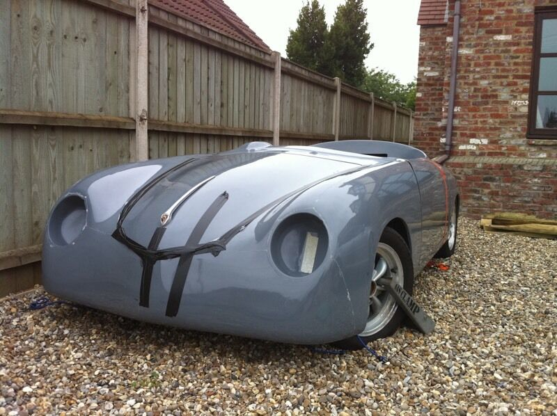 Porsche 356 Speedster Replica Project Beetle Based In