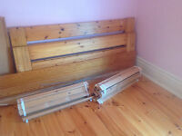 IKEA bed frame (queen size)