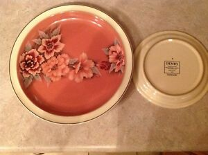 Beautiful Denby Set of 12 with services plates