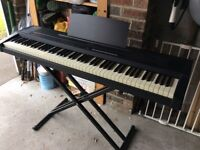Roland EP85 Electric Piano with X Stand and Case
