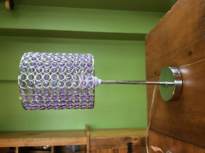Purple Jewel Bedside Lamp