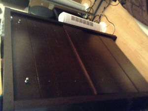 6 drawer tall chest brown