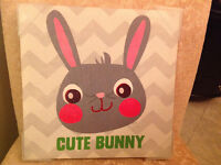 """CUTE BUNNY"" PICTURE"