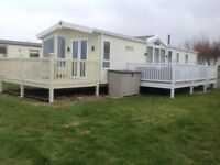 Meridian Lodge for hire in Craig Tara with sea views from £600pw