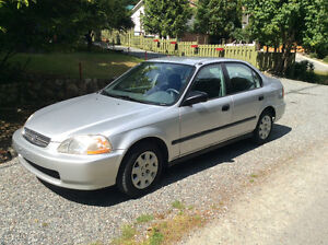 $2490 OBO A Smart, Well Maintained 1998 Honda Civic LX.