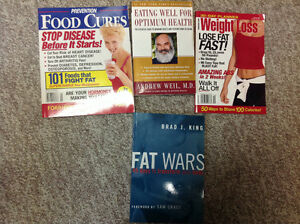 4 health/ weight loss books