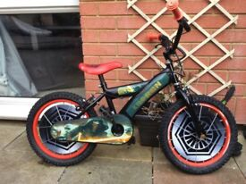 Boys Star Wars bike