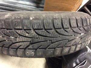 2 pneus d'hiver 155/ 80 R 13
