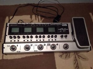 Zoom G5 guitar multi effects and amp simulator