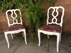 Dining room chairs - 4 @ $50 each