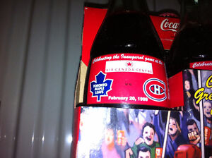 Leafs / Habs Coke Bottle