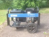 SDMO 4000. 4.1 KVA Diesel generator