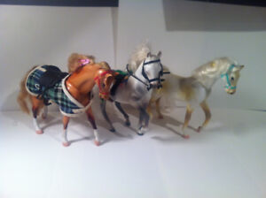 Cheval Grand Champions Lot De 3 Années 90 Figurines Rare