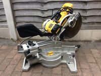 New dewalt 717 XP's mitre saw 110 volt