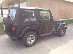 2003 Jeep TJ Convertible