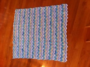 (New) Hand Knit Baby Blankets