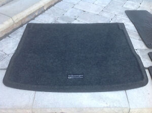 VW winter mats and trunk liner tray
