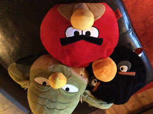 Angry bird accent/ play pillows