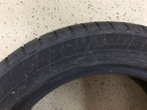 Goodyear Eagle LS 2 size 245/45/R17 like new, Audi A4 West Island Greater Montréal image 2
