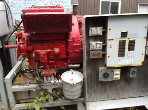 11KVA Generator sets and Lincoln gas welder