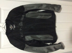 Harley Davidson Mens Large  Mesh Riding Jacket