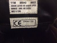 Timberland work boots shoes size 10