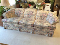 Retro Sofa Set. Couch and Love Seat
