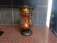 Partylite global fusion hurricane Candle holder