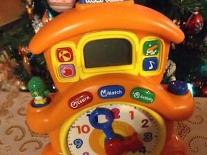 VTECH HORLOGE. REAL TIME. LEARNING TIME CUCKOO CLOCK Gatineau Ottawa / Gatineau Area image 2