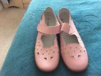 Pink damart shoes bnwt