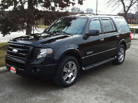 2007 FORD EXPEDITION LIMITED 4X4 - 7 PASS|NAV|ROOF|TOW PKG
