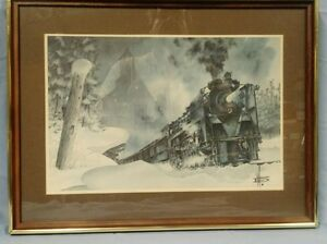 The Iron Road, Train Collection by W. Folkins $100 OBO