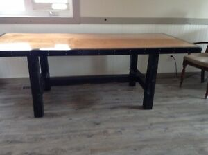0ne of a kind hand crafted table