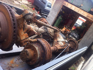 Dodge kingpin Dana 60 axles for sale Dana 70