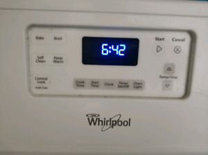 Whirlpool Stove - 4 burners - great condition