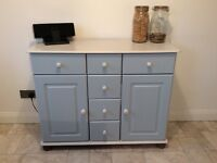 Kitchen dresser/linen storage /living room sideboard. Many uses for this item.