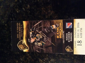 London Knights tickets for Sunday December 11 against Kitchener