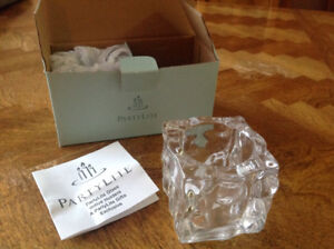 PartyLite Glass Votive Holders