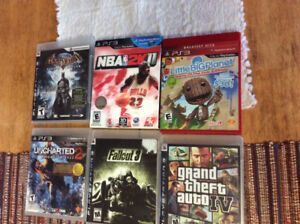 Used ps3 games jeux