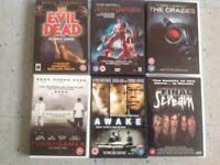 10 Horror DVDs £5