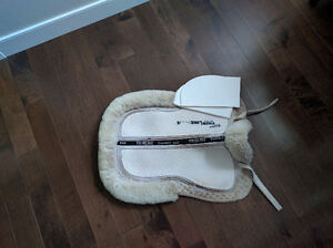 Thinline Ultra thin Trifecta cotton Half Pad with Sheepskin