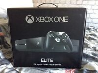 Superb Bundle Xbox One Elite + Elite Controller 144hz Gaming Monitor & Loads Of Games Perfect Cond