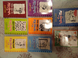 Diary of a Wimpy Kid (7 books and DVD) Edmonton Edmonton Area image 1