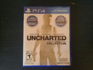 Jeu Uncharted :The Nathan Drake Collection pour PS4