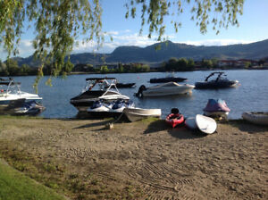 Osoyoos - 40 foot Park Model Trailer for rent with LAKE ACCESS