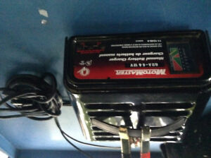 Car battery charger -- $35.00