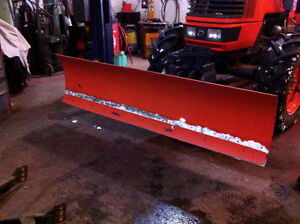 7 ft. factory ,quick hitch dozzer blade,