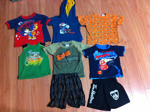 Size 3 Boys Summer Clothes